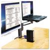 Kensington Column Mount Notebook-Monitor Dual Arm w/SmartFit System