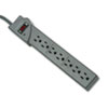 Kensington Guardian Premium Surge Protector, 7 Outlets, 6ft Cord, Gray