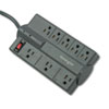 Guardian Premium Surge Protector, 8 Outlets, 6 ft Cord, 882 Joules, Gray