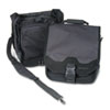 SaddleBag Laptop Carrying Case, 14-1/4 x 6-1/2 x 16-1/2, Black