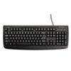 Kensington Pro Fit USB/PS2 Washable Keyboard, 104 Keys, Black