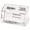 Acrylic Business Card Holder, Capacity 80 Cards, Clear