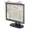 "LCD Protect Acrylic Monitor Filter w/Privacy Screen,17"" Monitor, Silver"