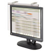 "LCD Protect Acrylic Monitor Filter w/Privacy Screen, 19""-20"" Monitor, Silver"