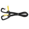Kantek Bungee Cord w/Locking Clasp, Black, 72