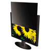 "Secure View Notebook LCD Privacy Filter, Fits 19"" LCD Monitors"