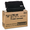 TK45 Toner, 12000 Page-Yield, Black