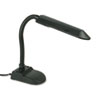 Economy Fluorescent Gooseneck Desk Lamp with Pencil Holder Base