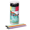Creative Arts Classroom Brush Assortment, Sizes 1-6, Synthetic, Round, 144/Pack