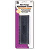Peel-Away Dry Erase Board Eraser w/12 Disposable Pads, Felt, 5