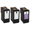 Lexmark 18C1517 Ink, 3/Pack, Black; Tri-Color