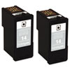 Lexmark 18C2228 Ink, 175 Page-Yield, 2/Pack, Black