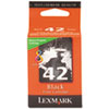 Lexmark 18Y0142 (42) Ink, Black