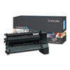 C782X2CG Toner, 15000 Page-Yield, Cyan