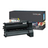 C782X2YG Toner, 15000 Page-Yield, Yellow