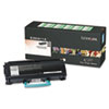 Lexmark E260A11A Toner, 3500 Page-Yield, Black