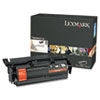 Lexmark T650H21A Toner, 25000 Page-Yield, Black