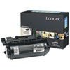Lexmark X644X01A Extra High-Yield Toner, 30000 Page-Yield, Black