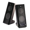 Logitech X-140 2.0 Speaker System, 4w x 5d x 9-1/2h