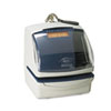 5000E Plus Electronic Time Recorder/Document Stamp/Numbering Machine, Cool Gray