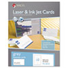 Microperforated Business Cards, 2 x 3 1/2, Gray, 250/Box
