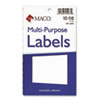 Multipurpose Self-Adhesive Removable Labels, 1 x 3, White, 250/Pack