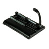 Master 24-Sheet Lever Action Two- to Seven-Hole Punch, 9/32