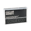 Maxell Standard Dictation/Audio Cassette, Normal Bias, 30 Min (15 x 2)