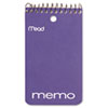 Mead Memo Book, College Ruled, 3