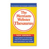 Merriam Webster Paperback Thesaurus, Dictionary Companion, Paperback, 800 Pages