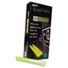Snaplights, 6&quot;l x 3/4&quot;w, Green, 10/Pack