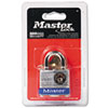 Master Lock Four-Pin Tumbler Lock, Laminated Steel Body, 1-1/2