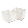 Kwik-File Mail Storage Totes, 18w x 13d x 11h, 3/Carton