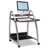 Eastwinds Arch Computer Cart, 31½w x 34½d x 37h, Anthracite