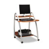 Eastwinds Arch Computer Cart, 31w x 34d x 37h, Medium Cherry
