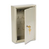 SteelMaster Dupli-Key Two-Tag Cabinet, 30-Key, Welded Steel, Sand, 8 x 2 1/2 x 12 1/8