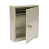 SteelMaster Uni-Tag Key Cabinet, 60-Key, Steel, Sand, 10 5/8 x 3 x 12 1/8