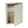 SteelMaster Uni-Tag Key Cabinet, 110-Key,Steel, Sand, 14 x 3 1/8 x 17 1/8