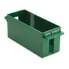 Porta-Count System Extra-Capacity Rolled Coin Plastic Storage Tray, Green