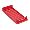 MMF Industries Porta-Count System Rolled Coin Plastic Storage Tray, Red