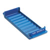 MMF Industries Porta-Count System Rolled Coin Plastic Storage Tray, Blue