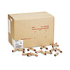 MMF Industries Preformed Tubular Coin Wrappers, Pennies, $.50, 1000 Wrappers/Box