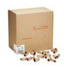 MMF Industries Preformed Tubular Coin Wrappers, Quarters, $10, 1000 Wrappers/Box