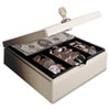 Heavy Duty Steel Drawer Safe, Key Lock, Sand