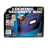 MMF Industries Seven-Pin Security/Night Deposit Bag w/2 Keys, Nylon, 8 1/2 x 11, Navy