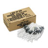 MMF Industries Enviro Cash Bag Seals, Serrated, 250/Box