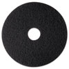 "High Productivity Floor Pad 7300, 12"", Black, 5 Pads/Carton"