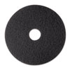 "Stripper Floor Pad 7200, 12"", Black, 5 Pads/Carton"