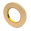 "High Performance Masking Tape, .47"" x 60 yards, 3"" Core"