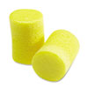 E-A-R Classic Earplugs, Pillow Paks, Uncorded, Foam, Yellow, 30 Pairs/Box